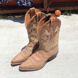 Ladies Cowboy Boots Size 8.5